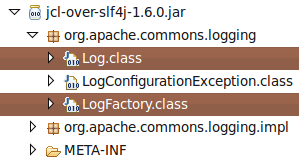 SLF4J logging with Log4J and JCL   Java and Spring development